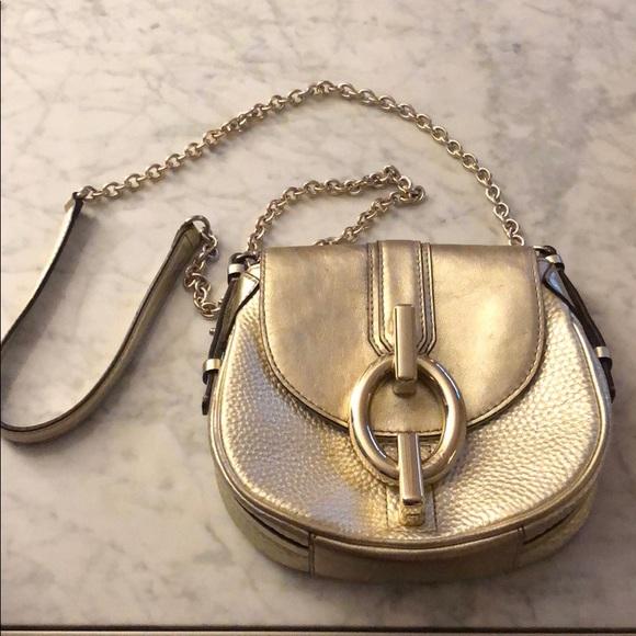 bc01947c7632 Diane Von Furstenberg Handbags - Diane von Furstenberg Sutra Mini Gold  handbag